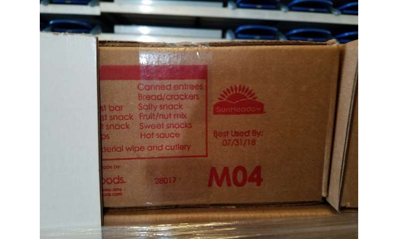 Federal food aid to Puerto Rico high in salt, sugar