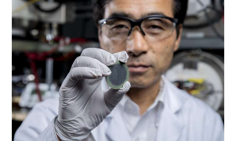 Finally, a robust fuel cell that runs on methane at practical temperatures