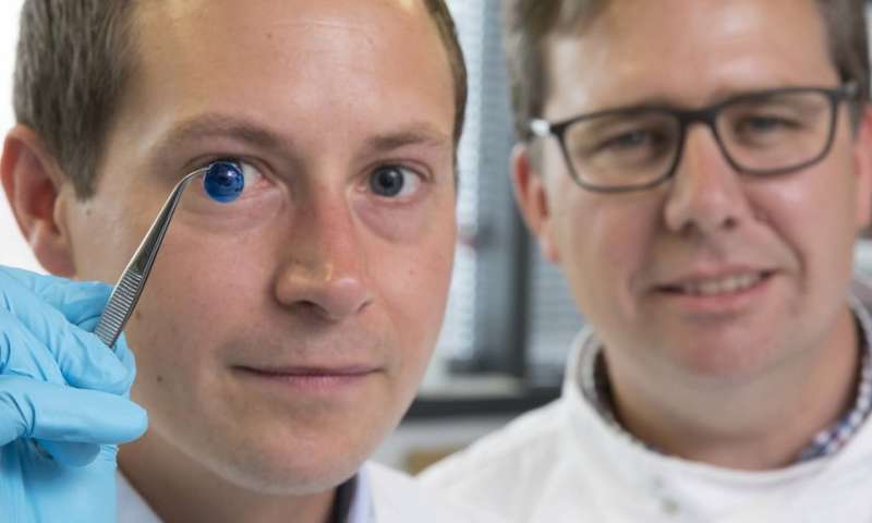 First 3D-printed human corneas