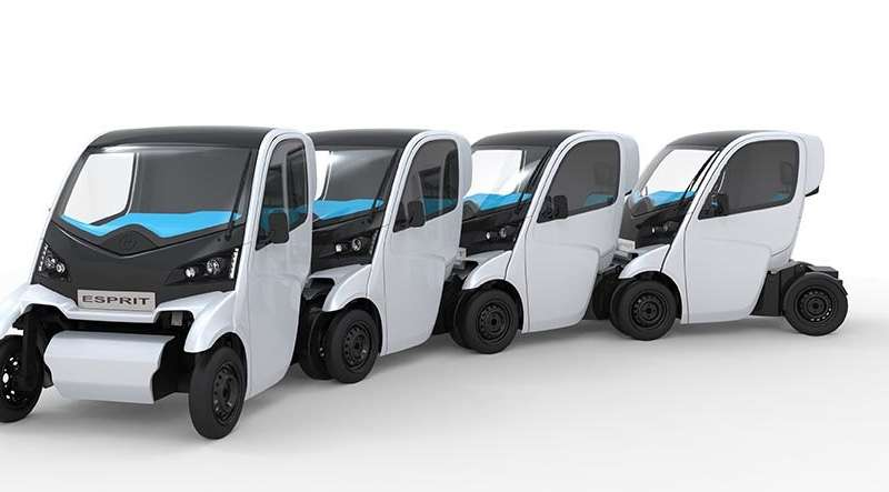 Fleets of compact e-vehicles could help battle air pollution
