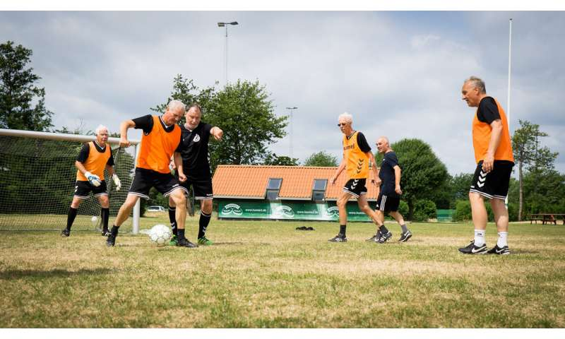 Football training may preserve bone health in prostate cancer patients