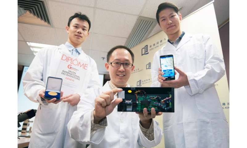 HKBU's device for quick and accurate detection of lead