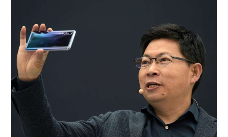 Huawei CEO Richard Yu said the company shifted 95 million smartphones in the first six months of the year
