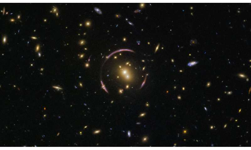 Image: Hubble finds an Einstein ring
