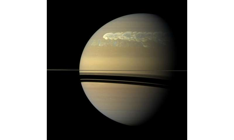 Image: Saturn's greatest storm