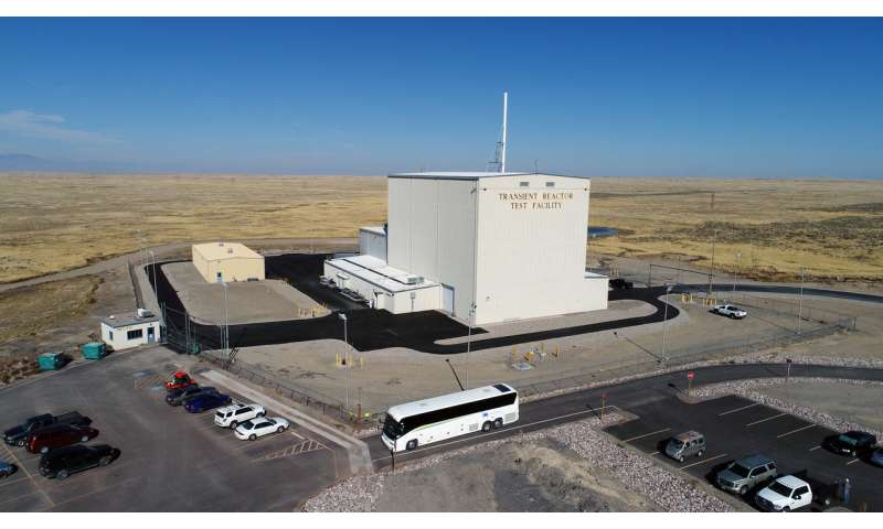 INL's TREAT reactor successfully completes first fueled experiment