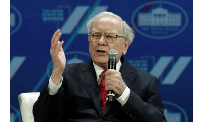 Investor Warren Buffett speaks on June 14 of last year in  Washington
