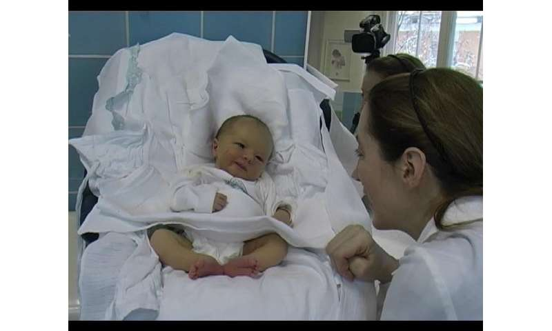 Is newborn smiling really just a reflex? Research is challenging the textbooks
