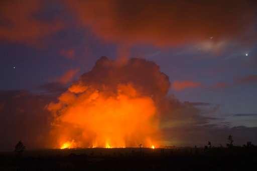 'It smelled like sulfur:' Ash falls near Hawaii volcano