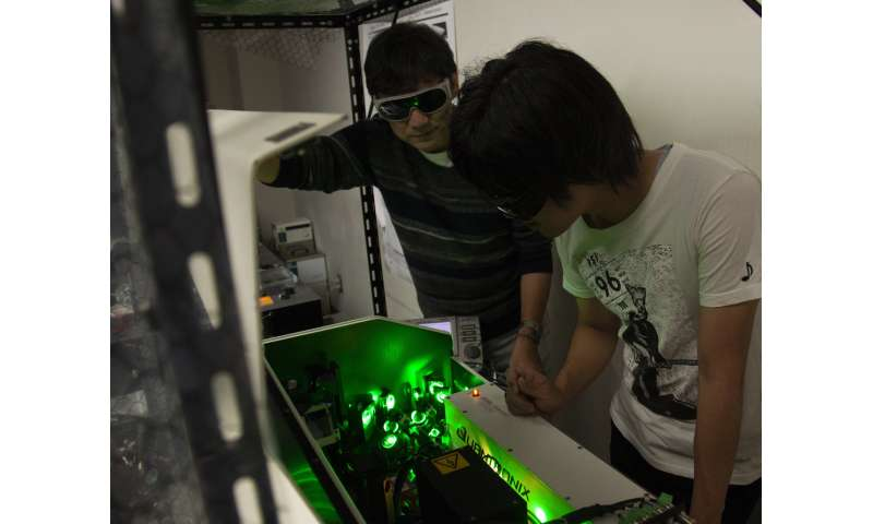 Light switch: Scientists develop method to control nanoscale manipulation in high-powered microscopes