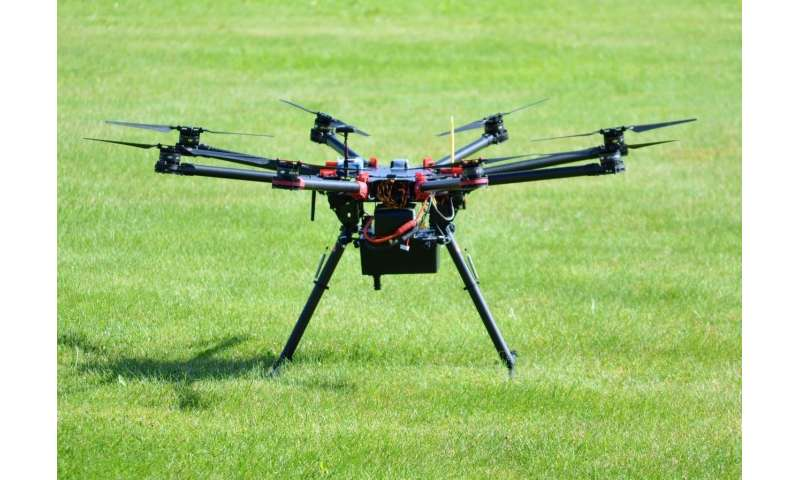 Lightweight hyperspectral imagers bring sophisticated imaging capability to drones