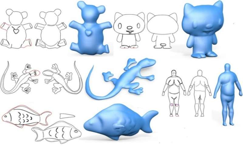 Making it easier to transform freeform 2D sketching into 3D Models