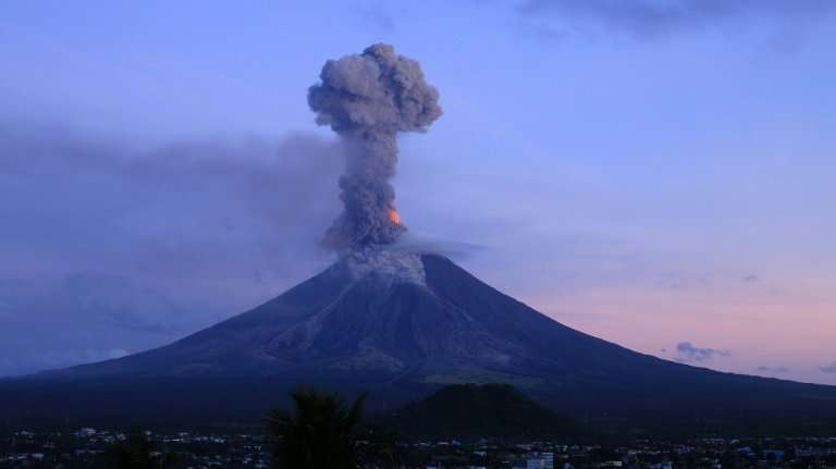 Mayon is considered the most volatile of the Philippines' 22 active volcanoes