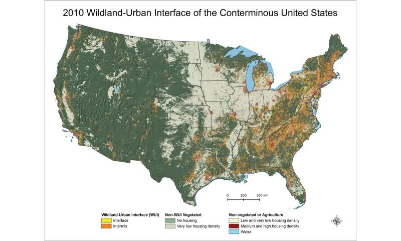 More homes built near wild lands leading to greater wildfire risk