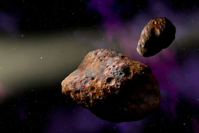 NASA's Lucy in the sky with … asteroids?