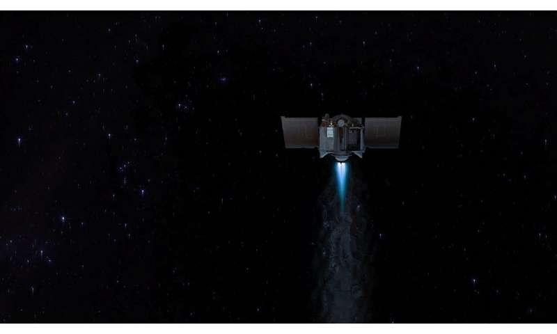 NASA's OSIRIS-REx Executes First Asteroid Approach Maneuver
