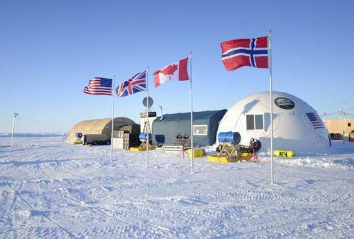 Navy starts under-ice submarine exercise off Alaska's coast