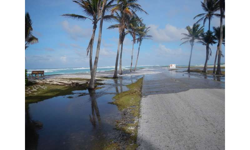 New early warning system could protect vulnerable islands from flooding