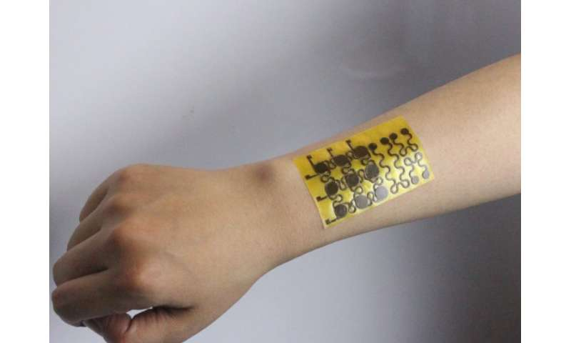 New malleable 'electronic skin' self-healable, recyclable