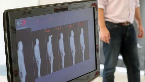 New passenger scanner uses space technology to speed up