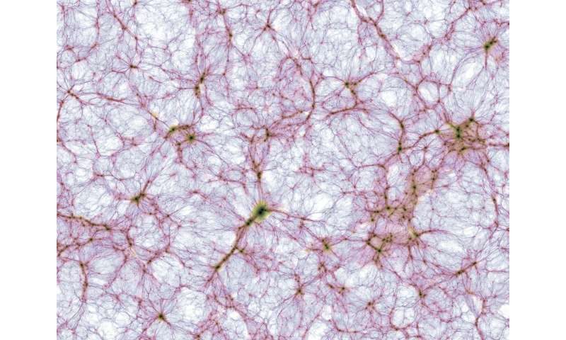New universe simulation prompts breakthrough discoveries in astrophysics