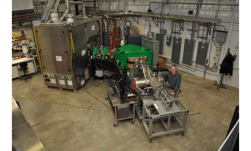 ORNL produces rare ruthenium isotope for atom smashing experiment