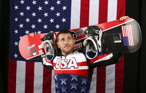 Paralympic snowboarder designs innovative gear -- for rivals