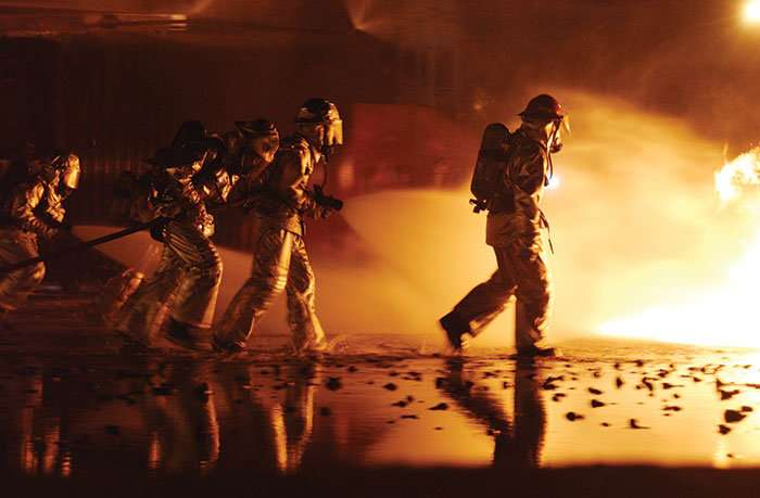 Persistent pain experienced by firefighters