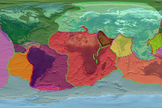 Plate tectonics may have been active on Earth since the very beginning