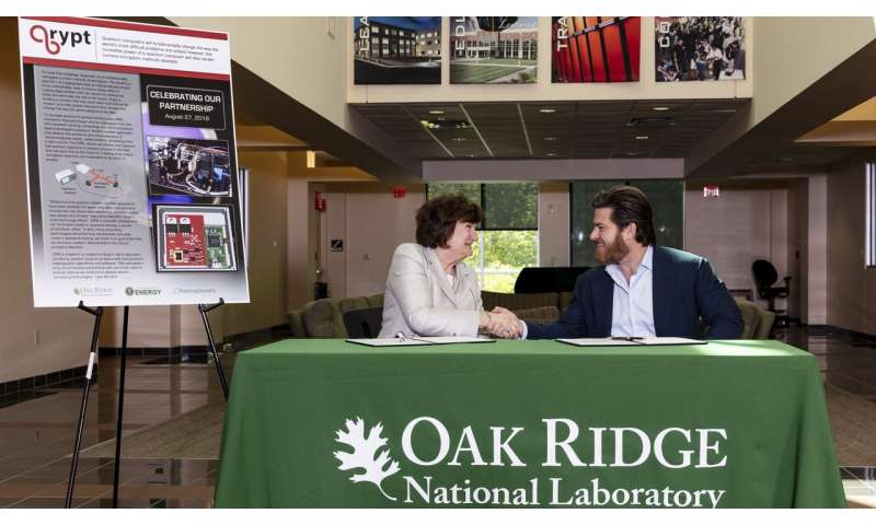 Qrypt licenses ORNL's quantum random number generator to fortify encryption methods