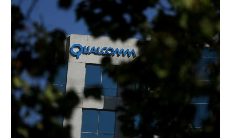 Qualcomm, the biggest supplier of smartphone chips, said it won a court order in China banning iPhone sales in its patent disput