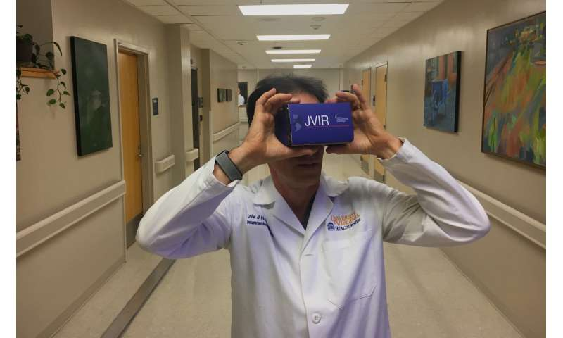 Radiologist uses virtual reality as powerful training tool