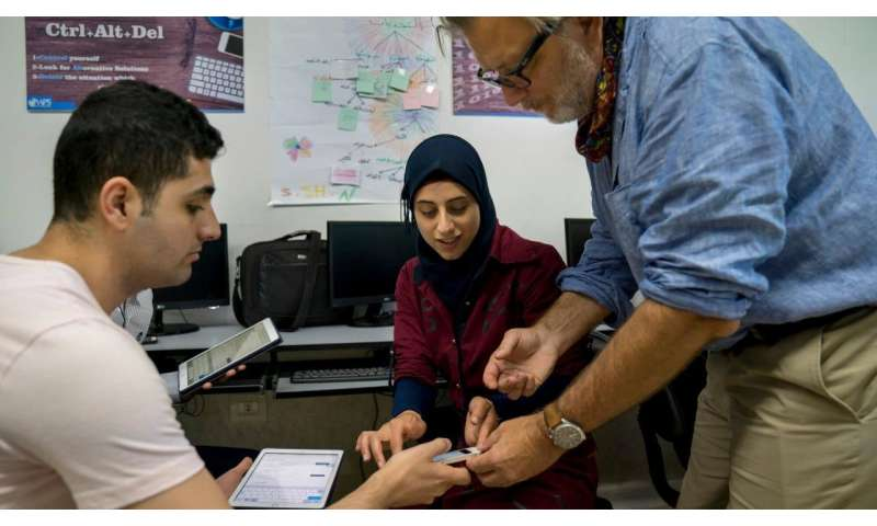 Refugees reclaim human rights with technology