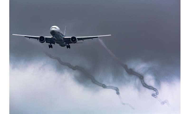 Research examines wing shapes to reduce vortex and wake