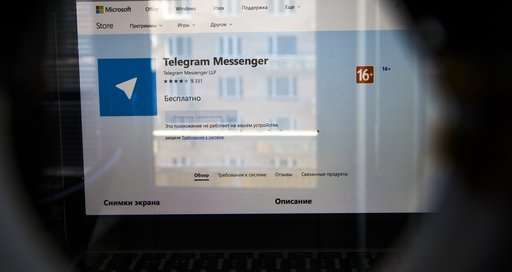 Russian begins blocking messaging app Telegram