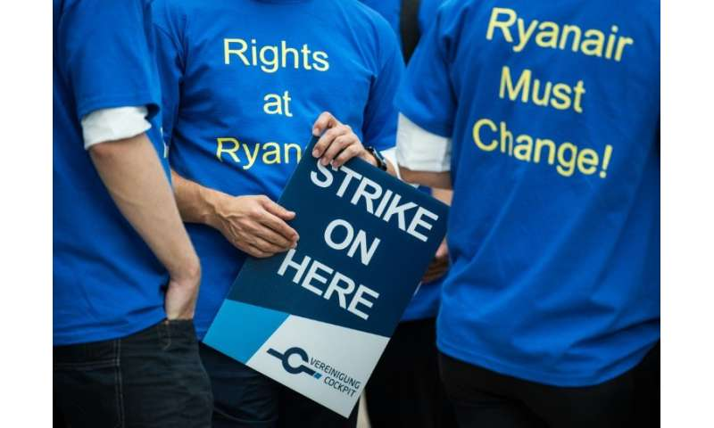 Ryanair has reached deals with unions representing pilots based in Ireland and Italy, but has yet to reach agreements with its o