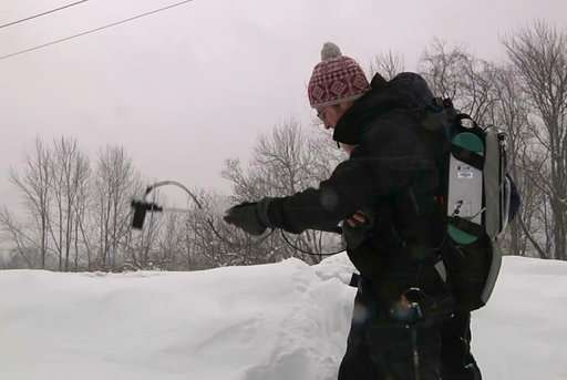 Snow science: Crystal clues to climate change, watersheds