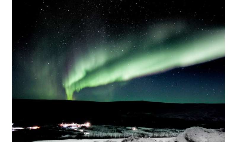Space weather threatens high-tech life