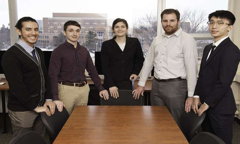 Students create exoskeleton app for patient with muscular dystrophy