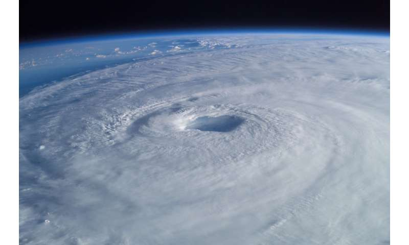 Study suggests heavy rains from tropical cyclones distort the ground below