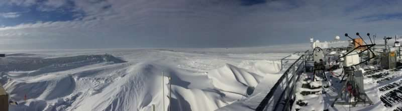 Team of atmospheric scientists goes to work in an evolving arctic
