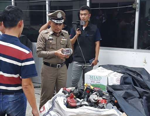 Thai police probe suspected illegal e-waste recycling