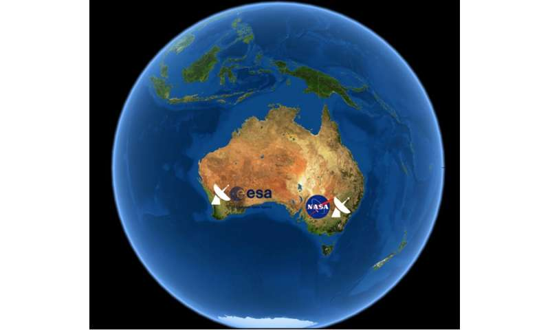 Map Of Australia From Space.The Big Global Space Agencies Rely On Australia Let S Turn That To