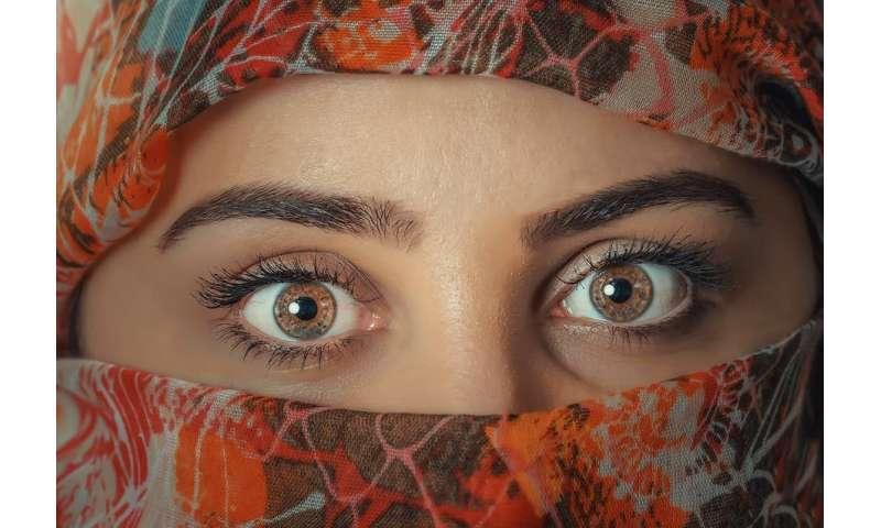 The evolutionary advantage of having eyebrows