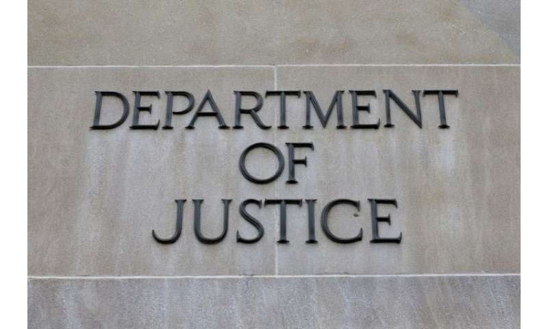 The US Justice Department announced the arrest of three Ukrainians alleged to have hacked more than 100 US businesses