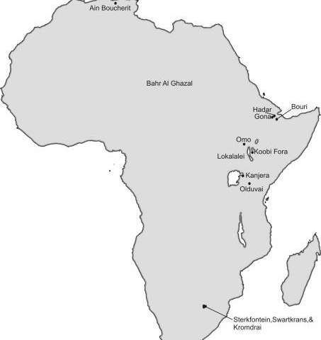**The whole of Africa was the cradle of humankind