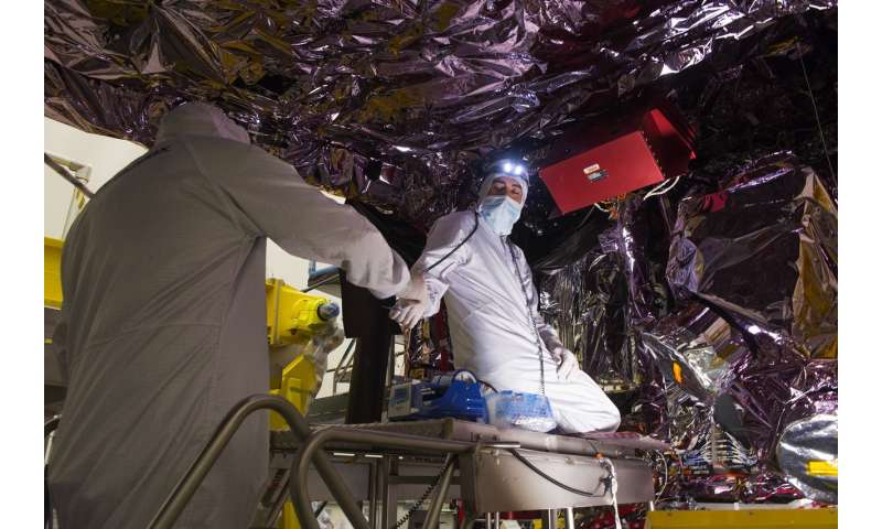 Time saving tooling rods used on NASA's Webb Telescope sunshield
