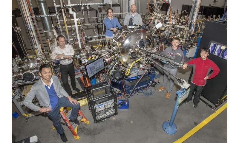 Using hydrogen ions to manipulate magnetism on the molecular scale