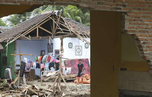 Weather hampers efforts to inspect Indonesia tsunami volcano