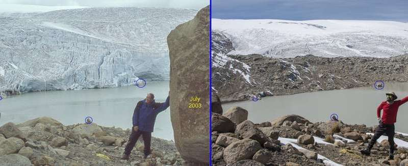 We've been studying a glacier in Peru for 14 years – and it may reach the point of no return in the next 30